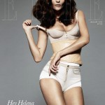 Helena Christensen Elle UK January 2010 cover subscribers