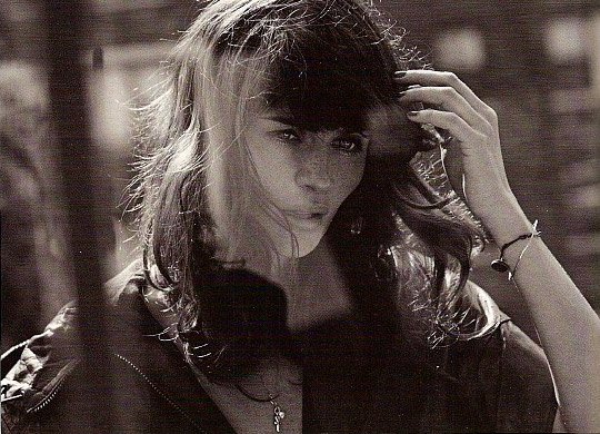 Helena Christensen GQ Magazine September black and white