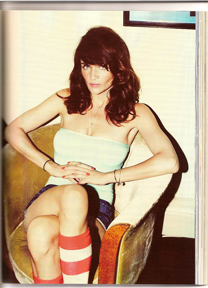 Helena Christensen GQ Magazine September photo