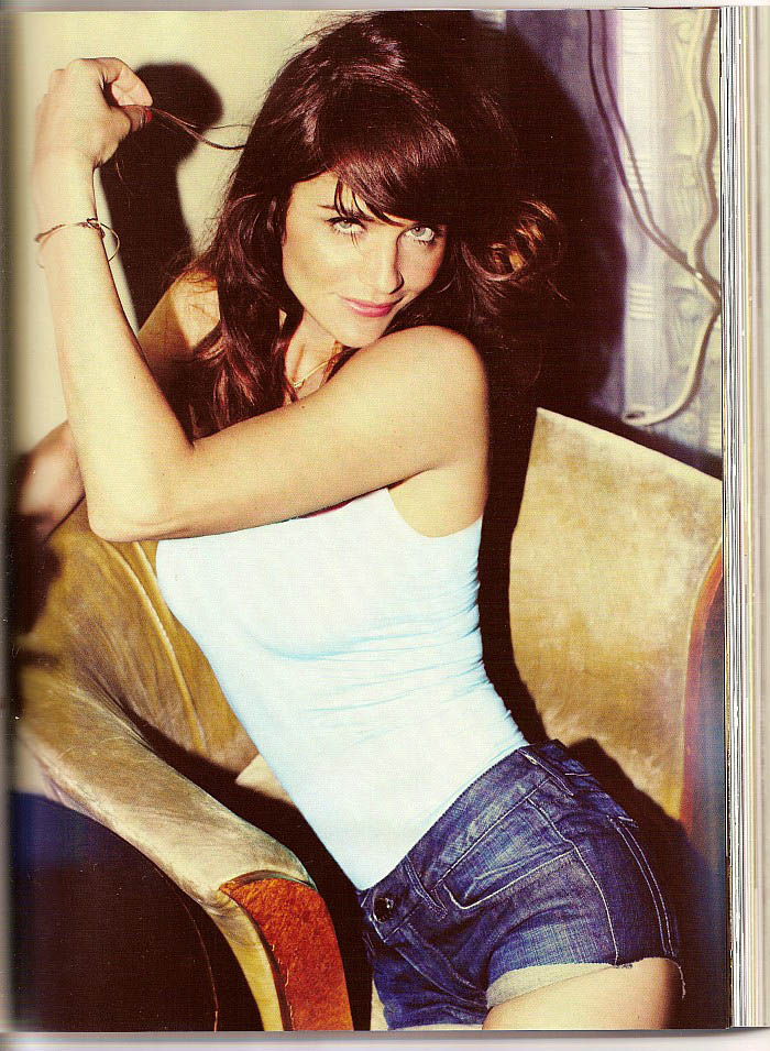 Helena Christensen GQ Magazine September picture