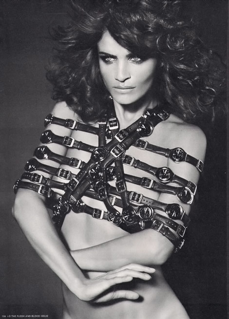 Helena Christensen iD Magazine Winter 2009