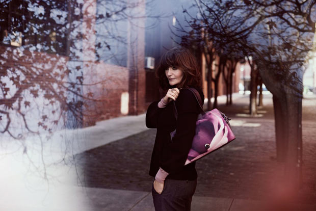 Helena Christensen Kipling bags collection campaign