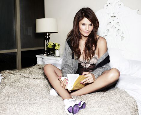Helena Christensen Advertises For Reebok. Again