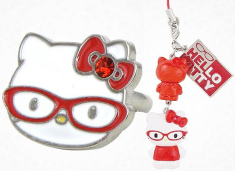 Hello Kitty 30 anniversary glasses