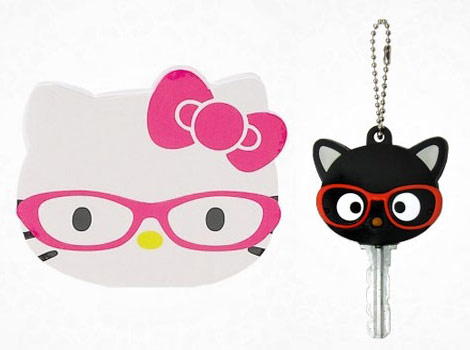 Hello Kitty anniversary glasses