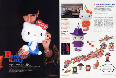 Hello Kitty Dior by Galliano