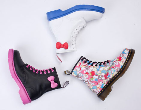Hello Kitty Dr Martens Boots Anniversary Collection