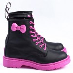 Hello Kitty Dr Martens Boots pink soles pink bow