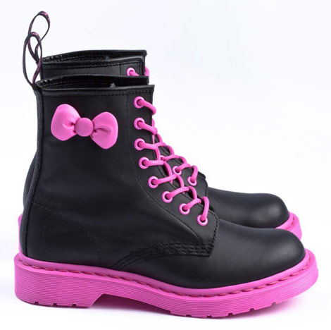 Hello Kitty Dr Martens 50th Anniversary Boots Collection