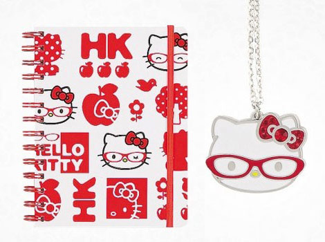 Hello Kitty Wears Glasses