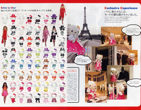 Hello Kitty Nippon Vogue Dior