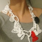 Hello Puppet Jewelry Niza Huang White Necklace