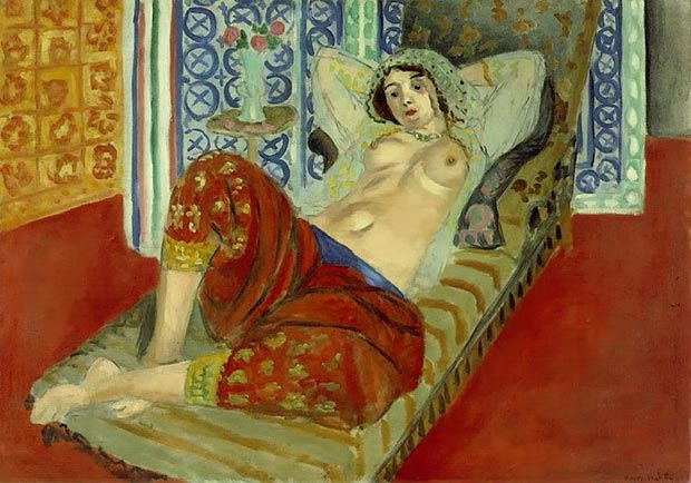 Henri Matisse Odalisque Red Culottes painting