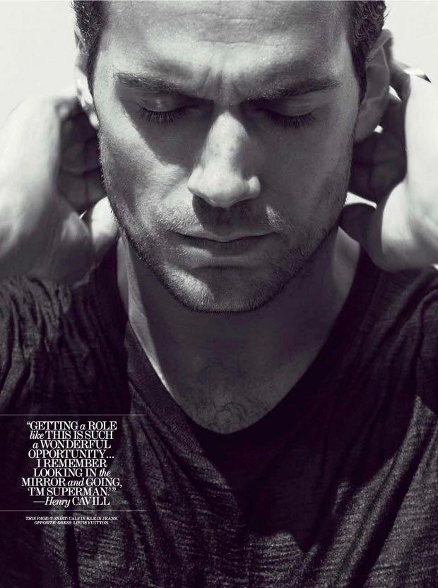 Henry Cavill Interview Magazine