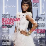 Herieth Paul Elle Canada July 2011 cover