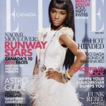 Herieth Paul Elle Canada July 2011 cover large