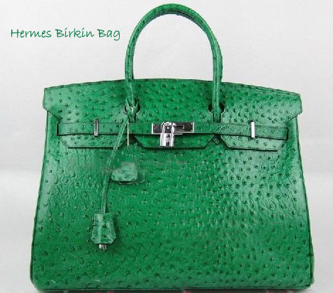 A Hermes Birkin Green Ostrich Bag In Transformers 3 Dark Side Of The Moon!