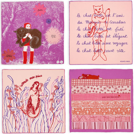 Fairy Tales Scarves From Hermes