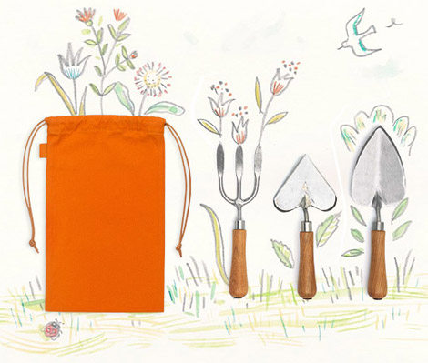 $345 Hermes Garden Tools To Pamper Your Flowers