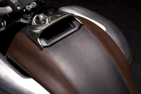 Hermes leather details Yamaha VMax