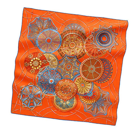 Hermes Scarf Les Dmes Clestes