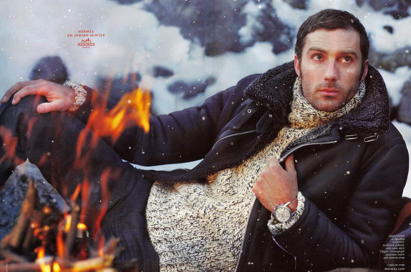 Hermes Men Fall Winter 2008 2009 Ad Campaign