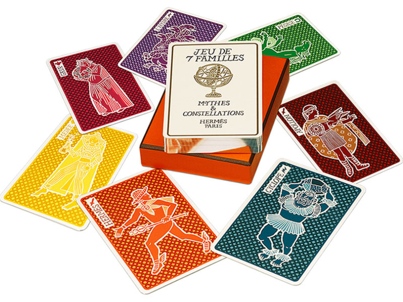 Hermes playing cards Family Game