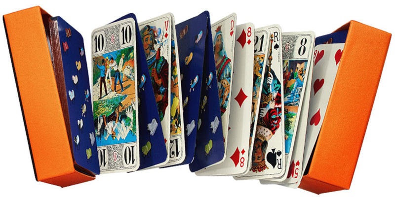 Hermes Tarot playing cards