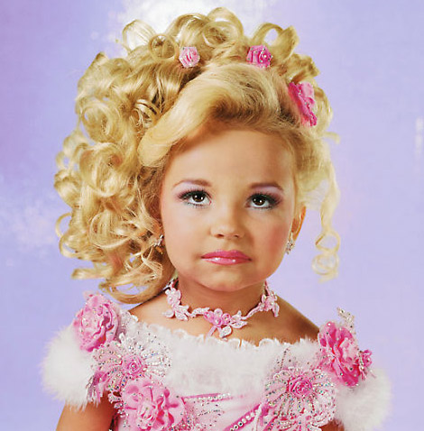 Little Girl Pageant Hairstyles