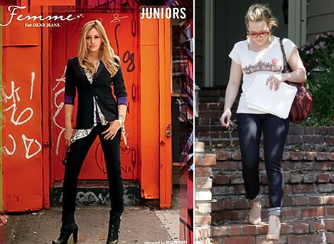 Hilary Duff's Femme For DKNY Jeans Collection