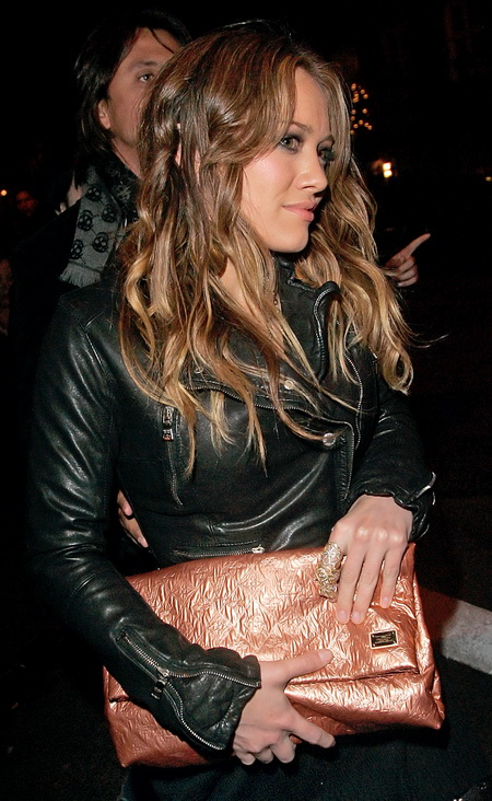 Hilary Duff Louis Vuitton Limelight Clutch