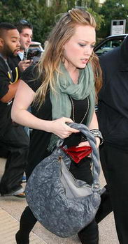 Hilary Duff Louis Vuitton Nimbus Handbag