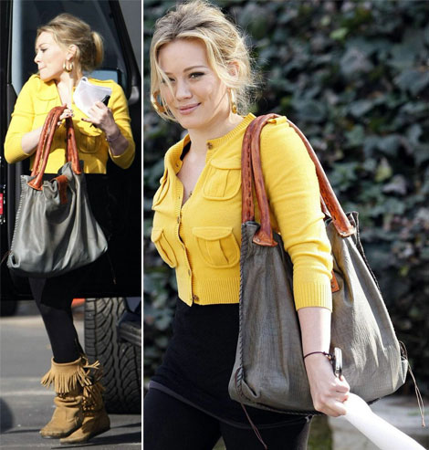 Hilary Duff Muxo Crock bag