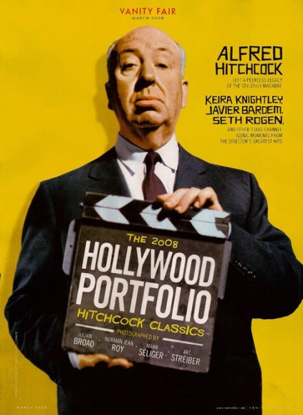 Alfred Hitchcock for Vanity Fair