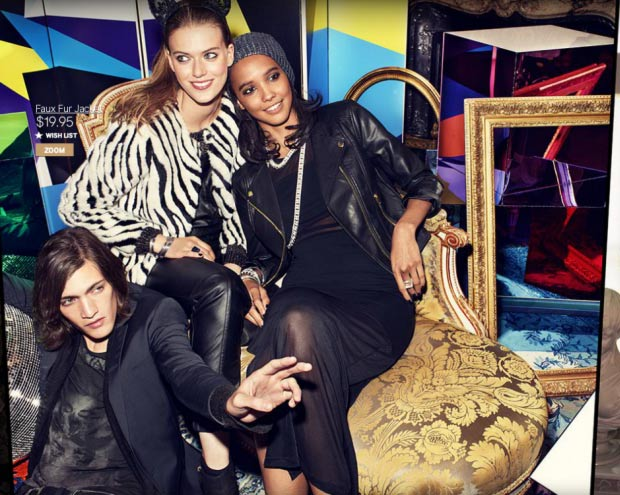 HM Holiday 2013 ad campaign