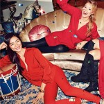 HM Holidays 2013 campaign red
