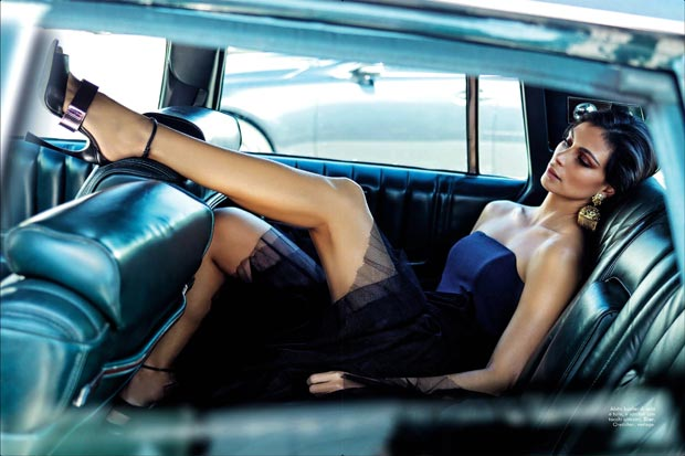 Morena Baccarin From Homeland To Vanity Fair Italia April 2013