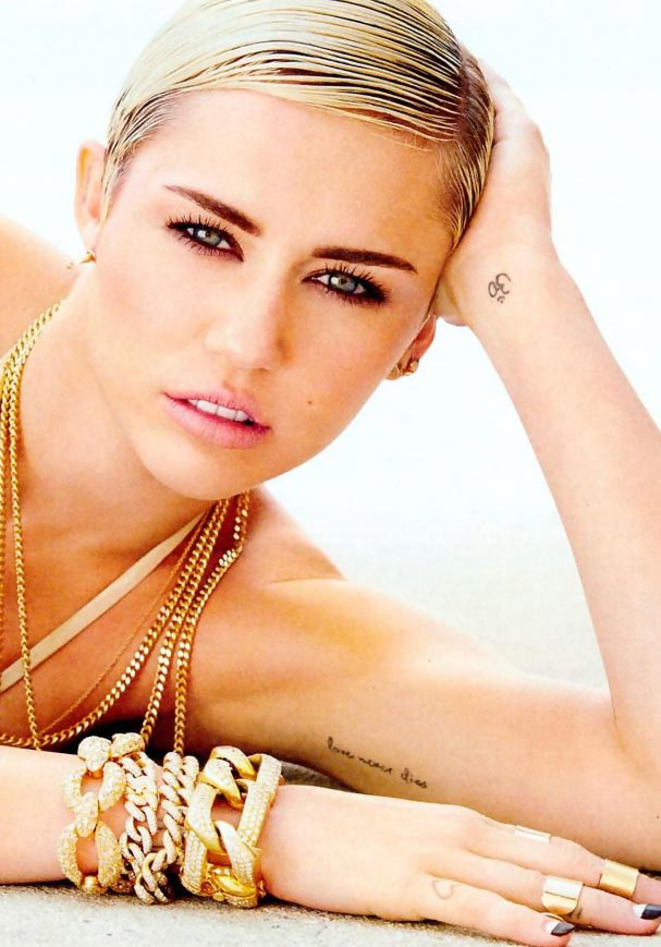 Hottest Woman Alive: Miley Cyrus According To Maxim!