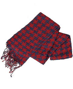 The Houndstooth Woven Scarf Forever21