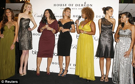 House of Dereon Spring 2009 collection Beyonce