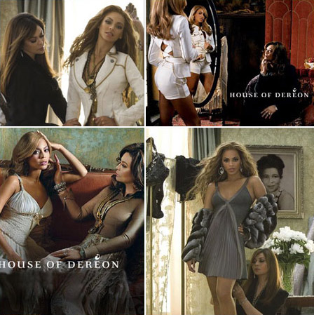 House Of Dereon Tina and Beyonce Knowles