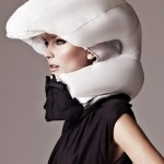 Hovding cycling futurist inflatable helmet