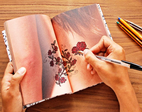 Choose The Right Tattoo And The Right Place For It: The Tattoo Notebook