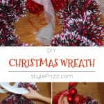 How to Christmas wreath easy Stylefrizz