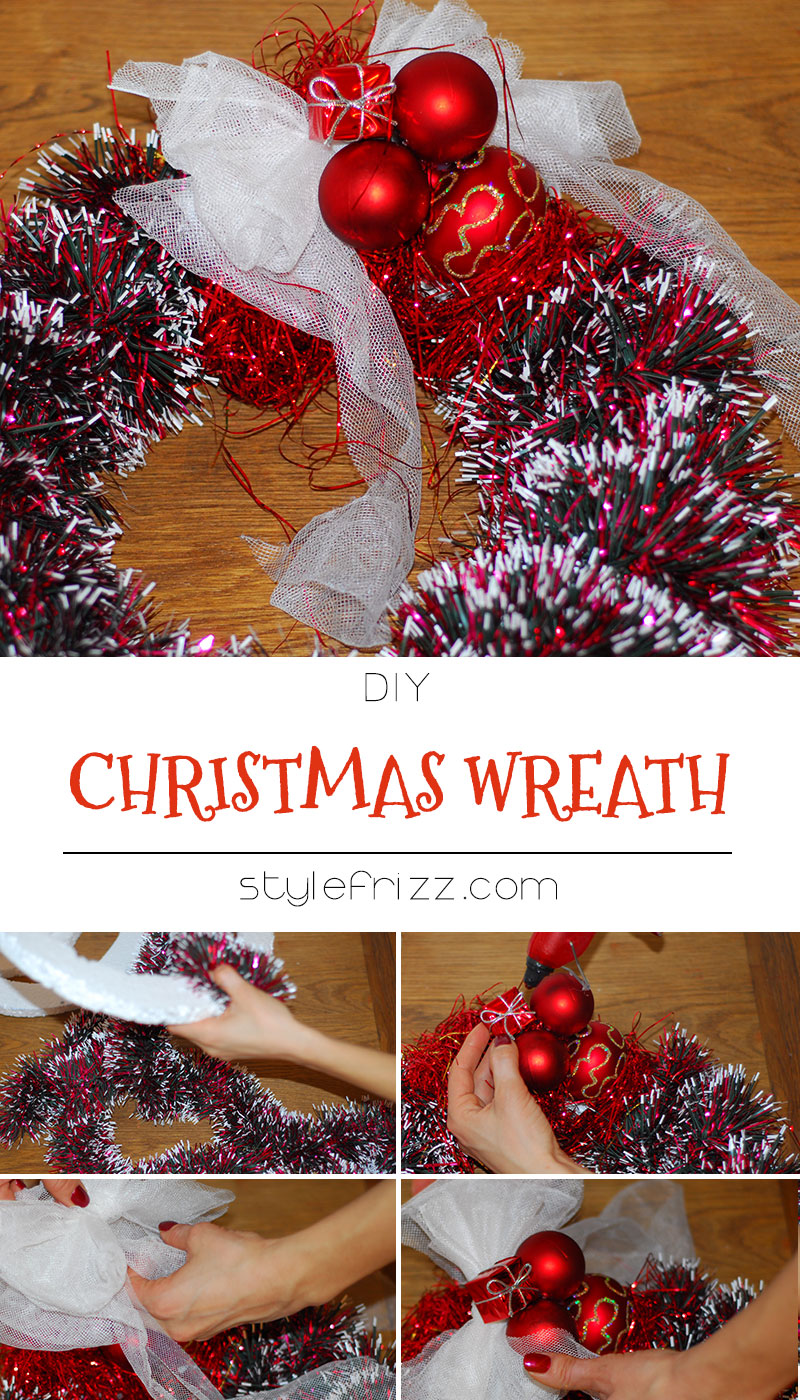 DIY Christmas Wreaths From Scratch!