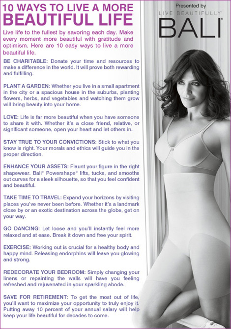 How To Live Beautifully. Helena Christensen For Bali