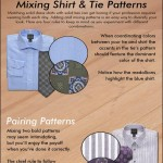 How to mix shirts and ties patterns