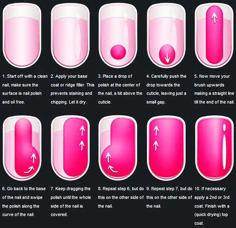 how to paint your nails like a professional