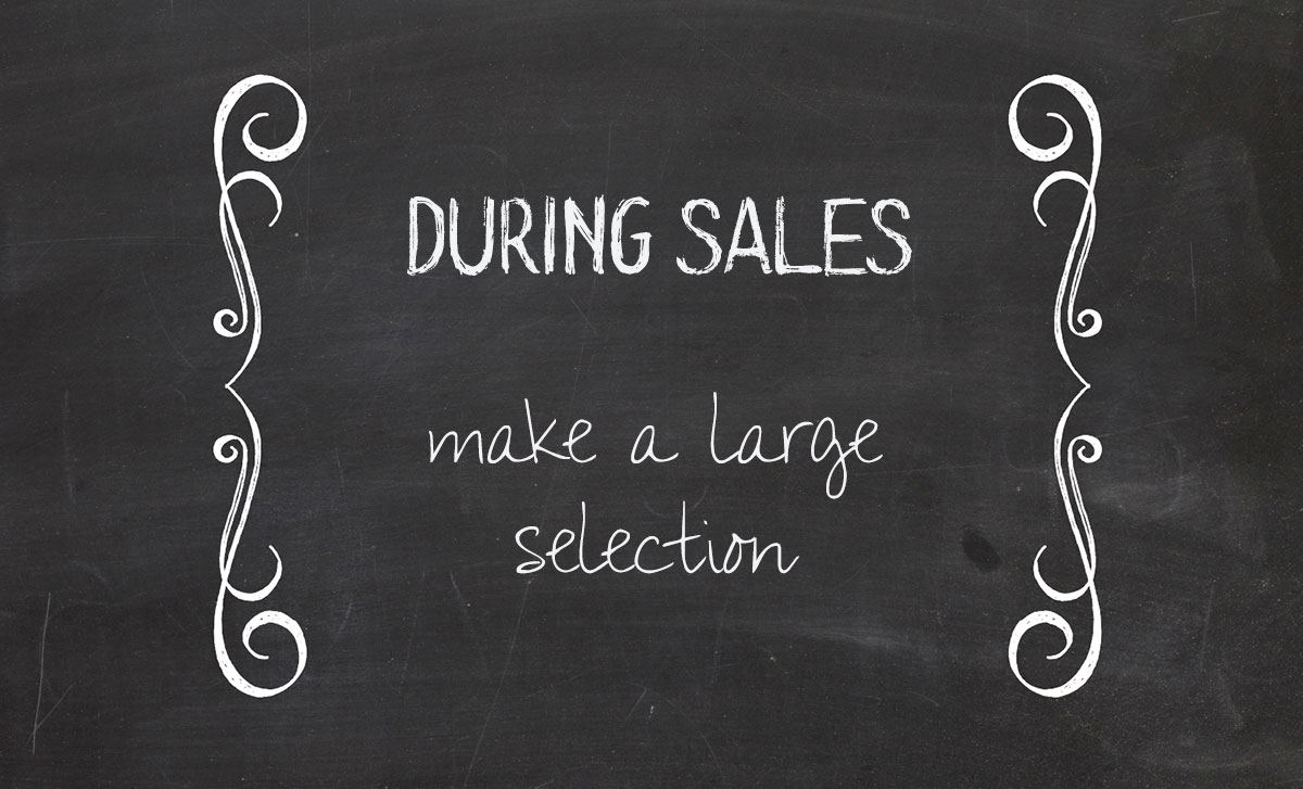 how to shop sales the smart way second select