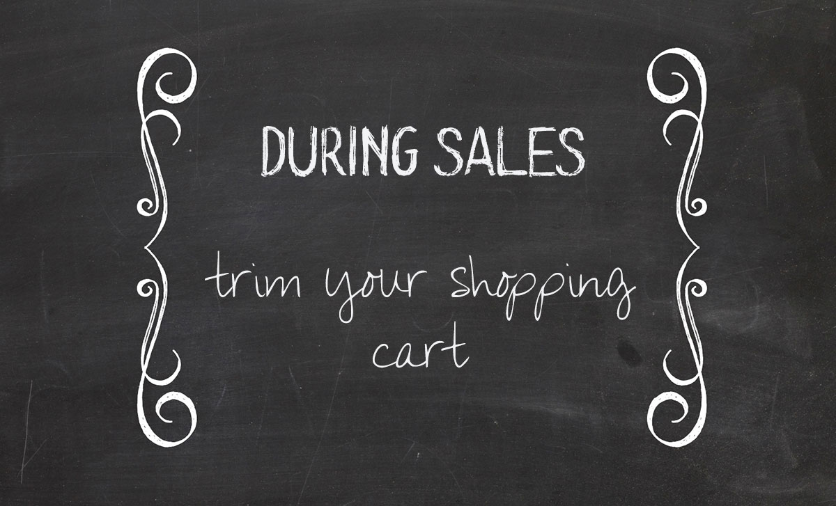 how to shop sales the smart way third trim